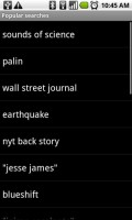 Google Listen Popular Searches