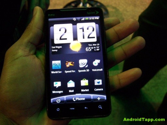 Video Demo of HTC Evo 4G Android Smartphone for Sprint