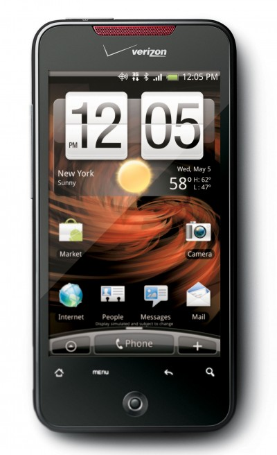 DROID Incredible by HTC Preorders April 19, Launch April 29
