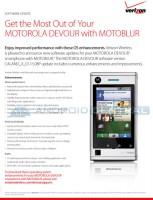 Motorola Devour Update Full
