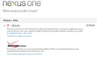 No Nexus One for Verizon