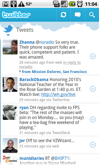 Official Twitter App Available for Android