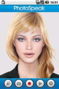 PhotoSpeak 3D Avatar