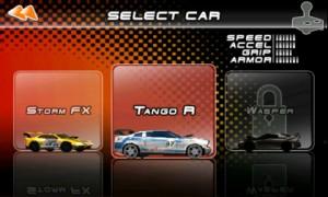 Raging Thunder 2 Choose Car