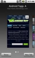 Skyfire Mobile Browser Tabbed Multiple Windows