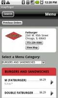 SnapFinger Restaurant Menu Details