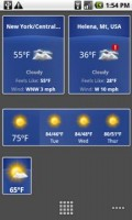 The Weather Channel Home Screen Widgets