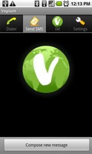 Vopium Send SMS