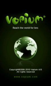 Vopium Splash Screen