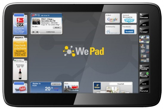 WePad Android Tablet Launching Soon