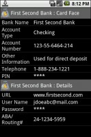 eWallet Viewer Bank Account
