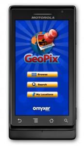 GeoPix on Motorola DROID