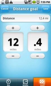 runstar Distance Goal