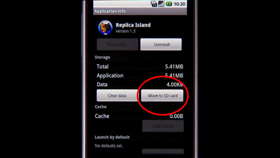 Android 2.2: Install Android Apps to SD Card
