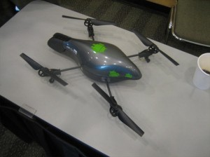 Android Phone Used to Fly an AR Drone at Google I/O 2010