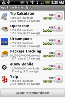 AppBrain My Recommendations