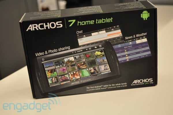 Archos 7 Home Tablet Ships in June