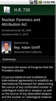 Congress Android App Bill Info
