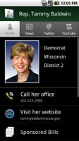 Congress Android App Congresswoman Info