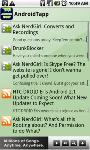 Dolphin Browser HD AndroidTapp RSS Add-on