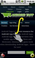 Dolphin Browser HD Gestures