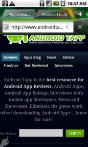 Dolphin Browser HD Viewing AndroidTapp