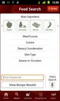 Epicurious Recipe App Search Recipes