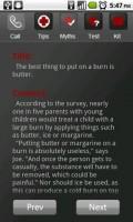 First Aid Myths