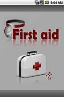 First Aid Splash Screen