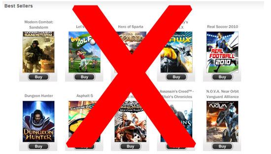 Gameloft Announceth then They Taketh [Fail]