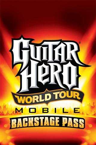 Guitar Hero World Tour Mobile: Backstage Pass. Available for Android