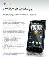 HTC Evo Available for Pre-order at Best Buy, Drops June 4th for $199