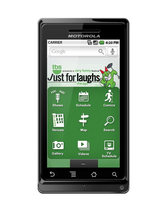 Attending TBS Just for Laughs in Chicago? There's an App for That!