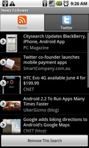 News Follower Android Apps News