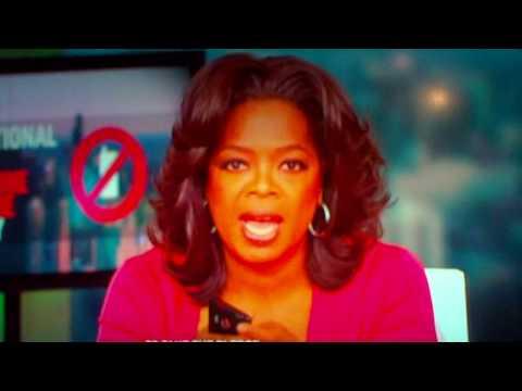Oprah Using HTC EVO 4G