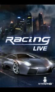 Racing Live Splash Screen