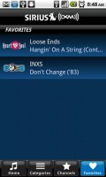 SIRIUS XM Radio Favorite Channels