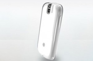 T-Mobile myTouch Slide Back Angle View