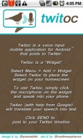 Twitoc Instructions