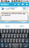 Twitter for Android Create Tweet