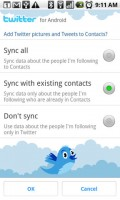 Twitter for Android Sync Settings