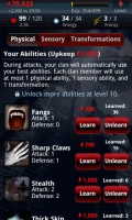 Vampires Live Abilities