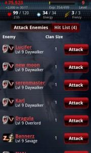 Vampires Live Attack