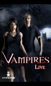 Vampires Live Splash Screen
