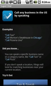 Vlingo Super Dialer Instructions