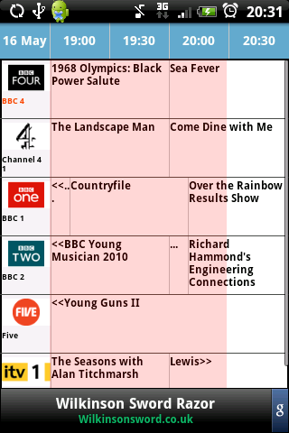 UK TV Guide