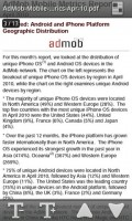 Adobe Reader for Android Text Reflow View