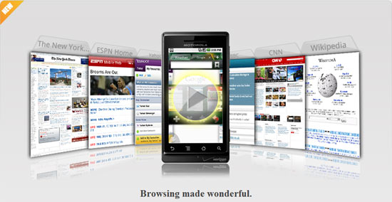 Dolphin Browser HD Version 2 is Fast and Packed with Features