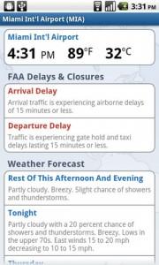 FlightTrack Airport Details
