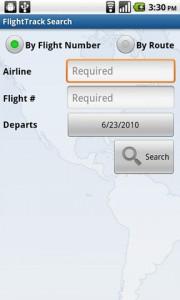 FlightTrack Search
